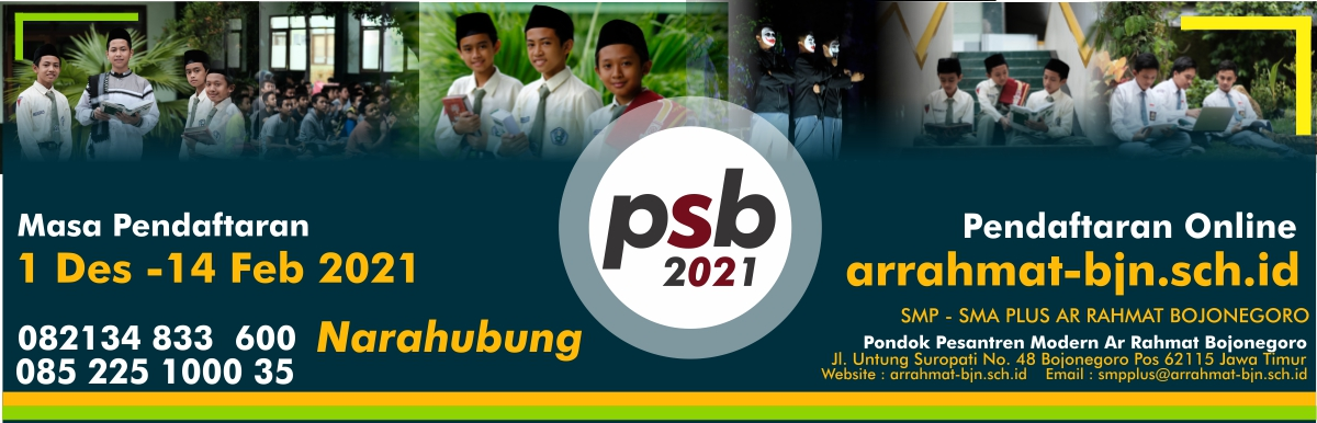 PSB PPM AR-RAHMAT TH 2021